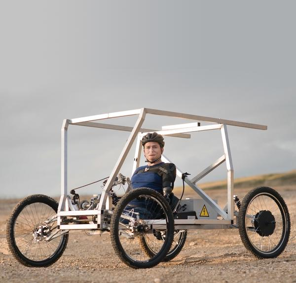 This September, Alex Lewis will drive his moon buggy up the highest mountain in Ethiopia to raise money for a wheelchair factory there