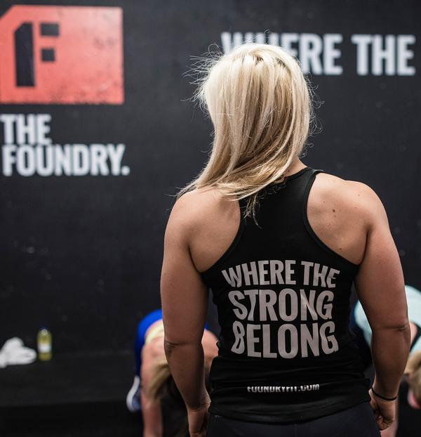 The Foundry's demographic is varied, but the classes and gym are particularly popular with 25-35 year olds