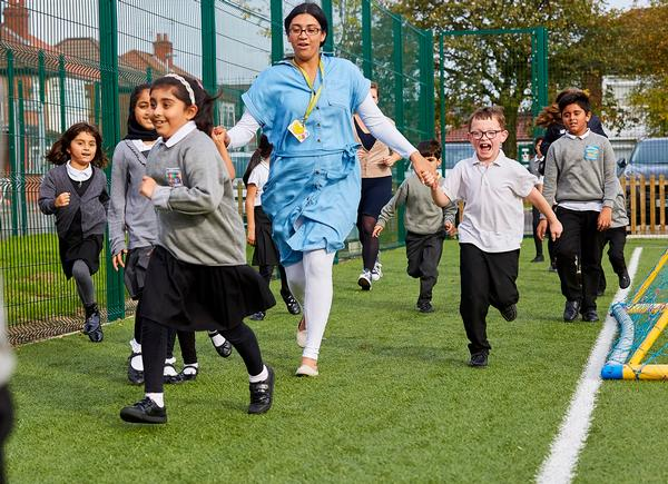 The Daily Mile sees kids taking part in activity in 400 schools each day / PHOTO: greater sport