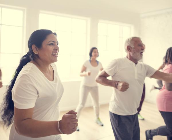 Older members favour late mornings and classes such as Zumba, Pilates and Yoga