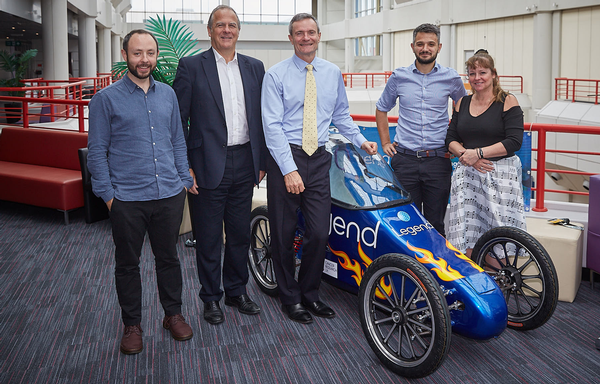 The new collaboration was brokered by ukactive's Steve Ward (second from right) / John Warden Photography