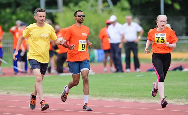 This year, more than 80 VI athletes took part in the annual Metro athletics event