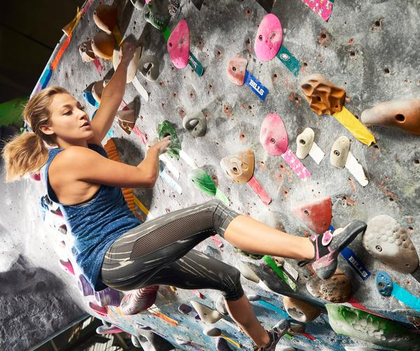 Juris wanted to show casual climbers that the clubs have a wider fitness offering