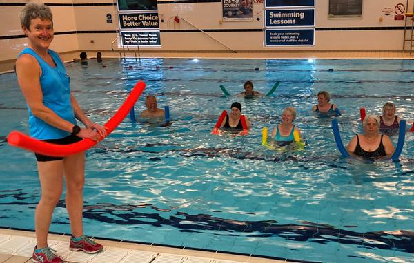 Oldham Community Leisure actively targets older members, putting the focus on socialising