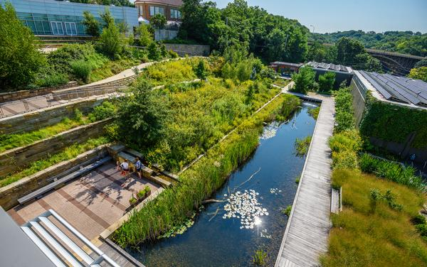 The Center for Sustainable Landscapes in Pittsburgh, US