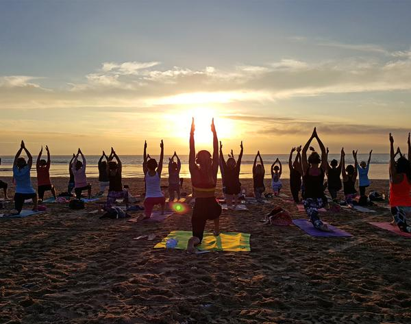 Oceanflow Yoga enjoys a stunning location, close to famous beaches such as Fistral