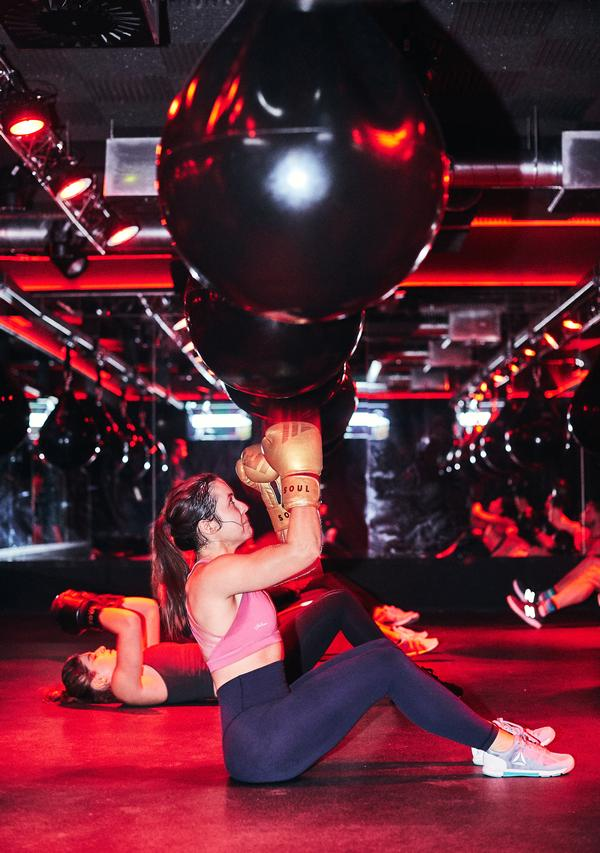 The HIIT classes are focused around boxing or running