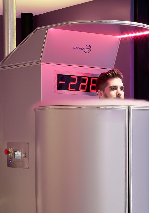 Cryotherapy chambers take people down to minus 250o F to boost their immune system and reduce inflammation / PHOTOGRAPHY: zekeruelas.com
