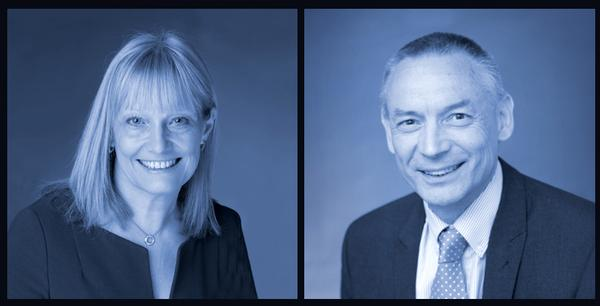 Sandra Dodd, CEO and John Oxley, COO