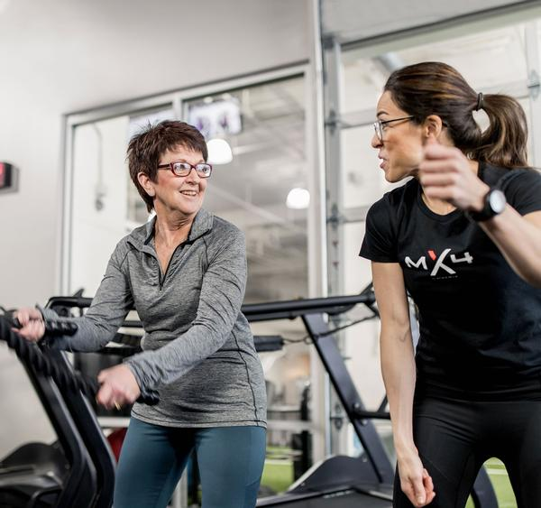 MX4 Active has been designed to enable participants to quickly feel comfortable and familiar with the exercises