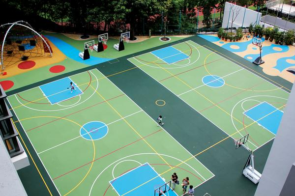 TVS specialises in high performance flooring for sports facilities, gyms, playgrounds and more in a wide range of colours and styles