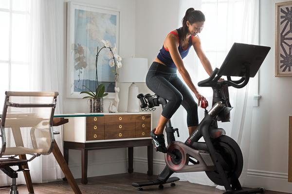 Peloton's US$4bn valuation has piqued interest in the sector / PHOTO: PELOTON