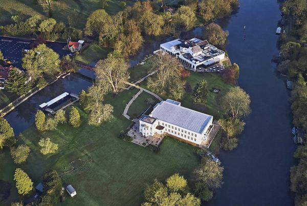 Originally a monastery, Monkey Island became an aristocratic home and then a hotel