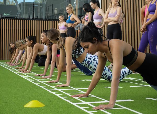 EMF gyms feature women-only training areas