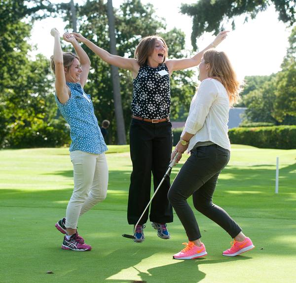 England Golf has set a target of 20 per cent female participation by 2020