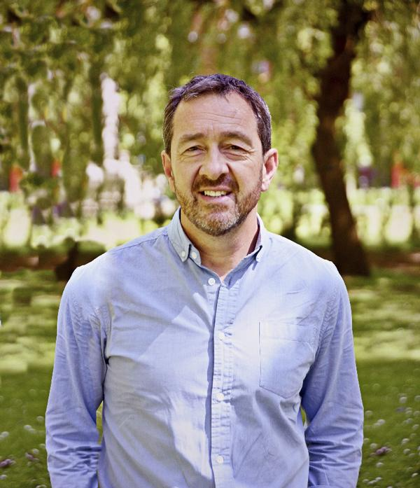 Olympic cyclist Chris Boardman