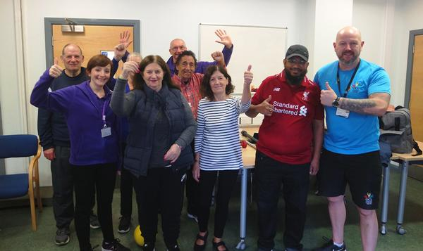 Oldham Community Leisure runs the Stroke Association's 'Moving Forward After Stroke' 13-week fitness rehabilitation programme