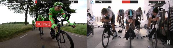 SUF Cycling features real footage from the biggest races in pro cycling