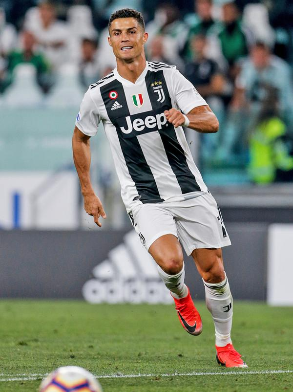 Ronaldo increased Juventus' global following / © shutterstock/cristiano barni
