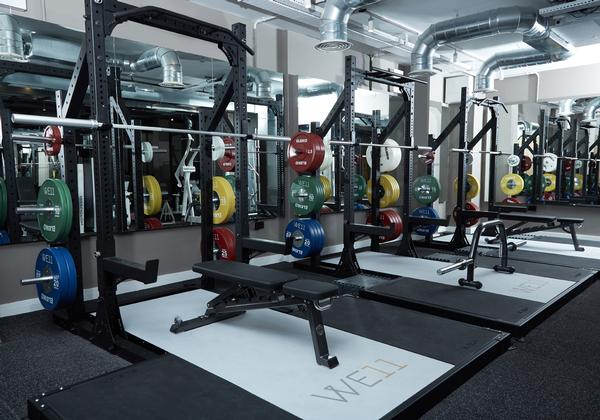 The facility can accommodate up to 20 personal training sessions at one time, and is open 15 hours a day