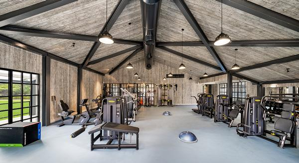 Two gyms are kitted out with Technogym equipment