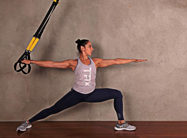 The 'TRX for Yoga' workshop shows instructors how TRX can be used to assist and challenge yoga practice