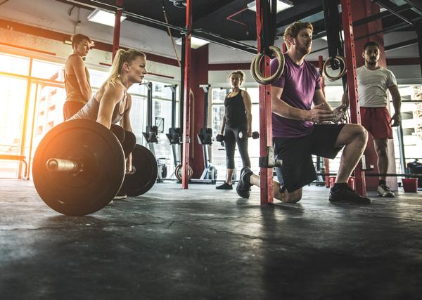 Mintel says record numbers of people have health club memberships / PHOTO: SHUTTERSTOCK/ONEINCHPUNCH