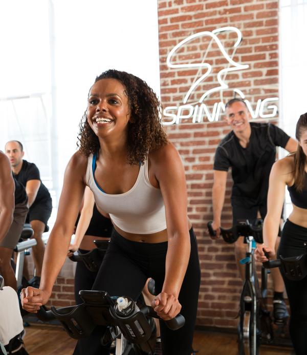 Almost 30 per cent of millennial exercisers either take part in or are considering group-ex cycling