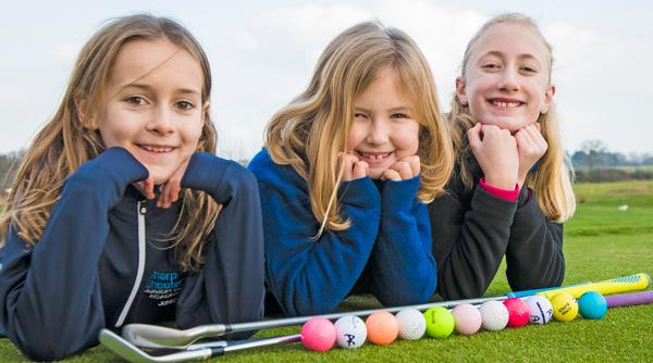 Girls Golf Rocks is a national project that aims to attract younger girls into the sport / photos: © Leaderboard Photography