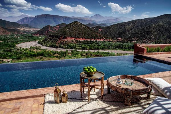 Third Space Escapes' first location was the Atlas Mountains in Morocco