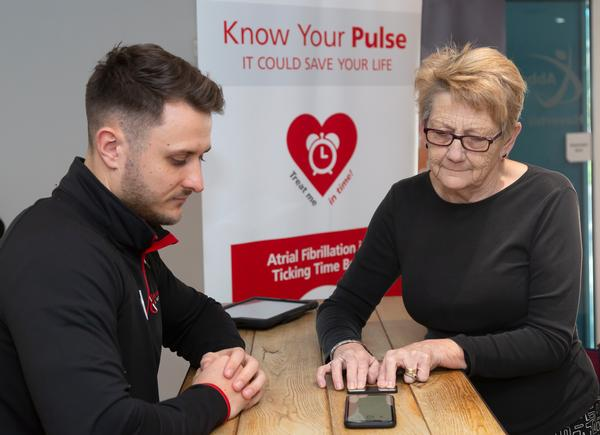 A test that identifies signs of Atrial Fibrillation is adding value to the Abbeycroft Leisure community