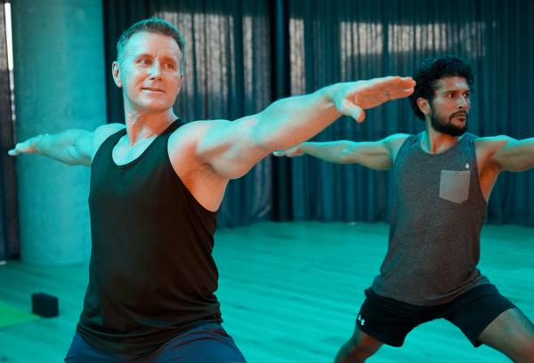 Leon and Michelle say balance is key to health – they encourage members to mix yoga and pilates classes in with the more high intensity classes