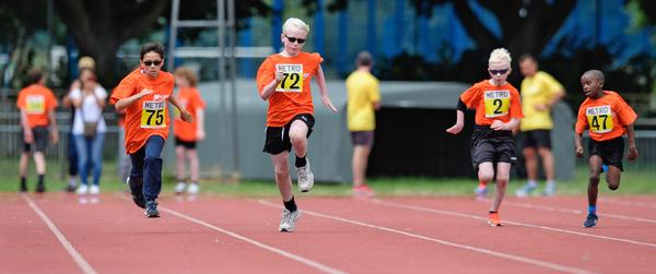 Participating in sport can increase confidence, improve social interaction and help improve balance and sensory awareness