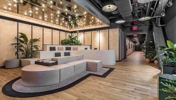 WeWork's Rise gym was designed by Brittney Hart