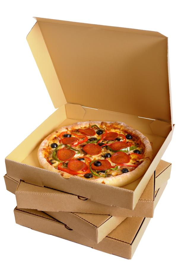 If people know they have to do a 95 minute run to work off a medium sized pizza, they'll probably decide to go without it! / STILL LIFE: SHUTTERSTOCK/DAVID FRANKLIN