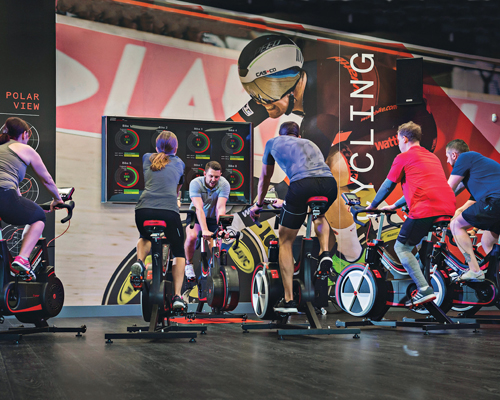 The passion of indoor cycling