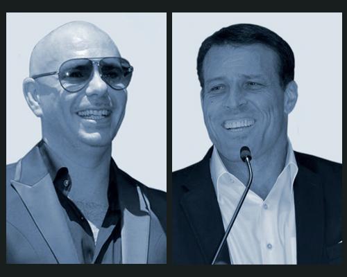 Pitbull and Tony Robbins