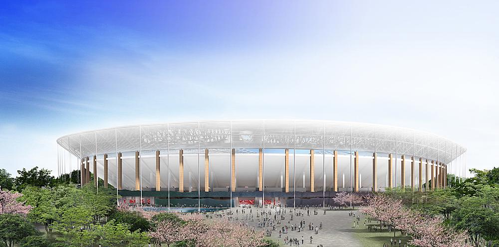 Ito's proposal for Japan's New National Stadium / Ito, Nihon, Takenaka, Shimizu, Obayashi