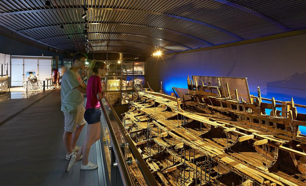 Perkins + Will worked on the Mary Rose with Wilkinson Eyre