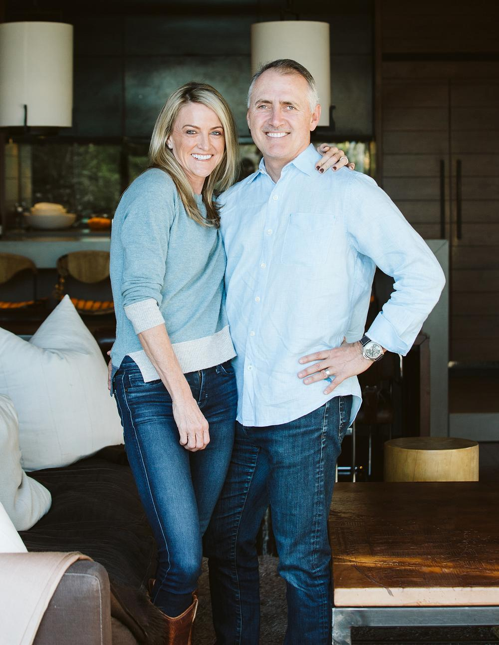 Scott Lee became president of SB Architects in 2000. Tracy Lee founded TLee Spas in 2015