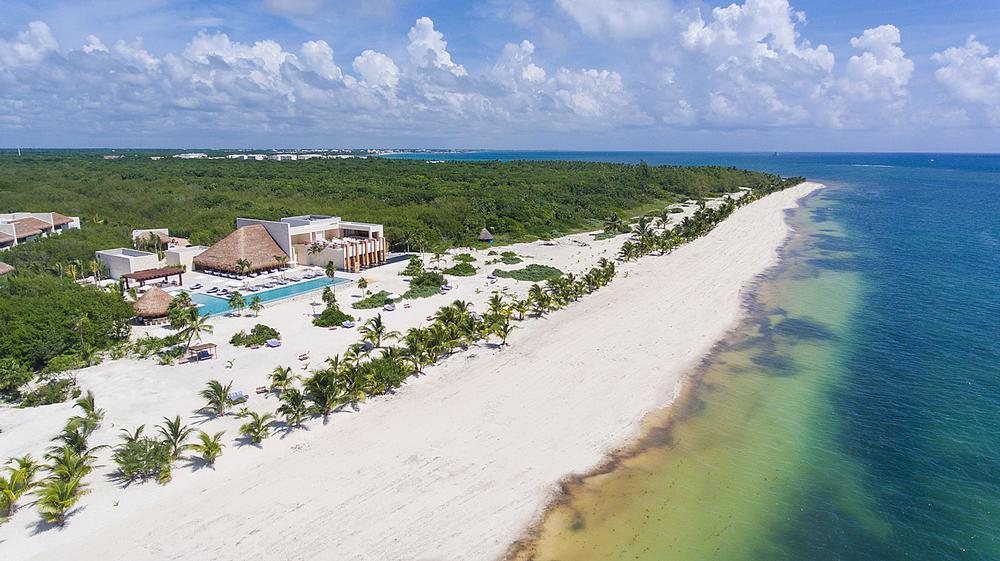Hotel Chablé Maroma opened last year on the beach near Cancun