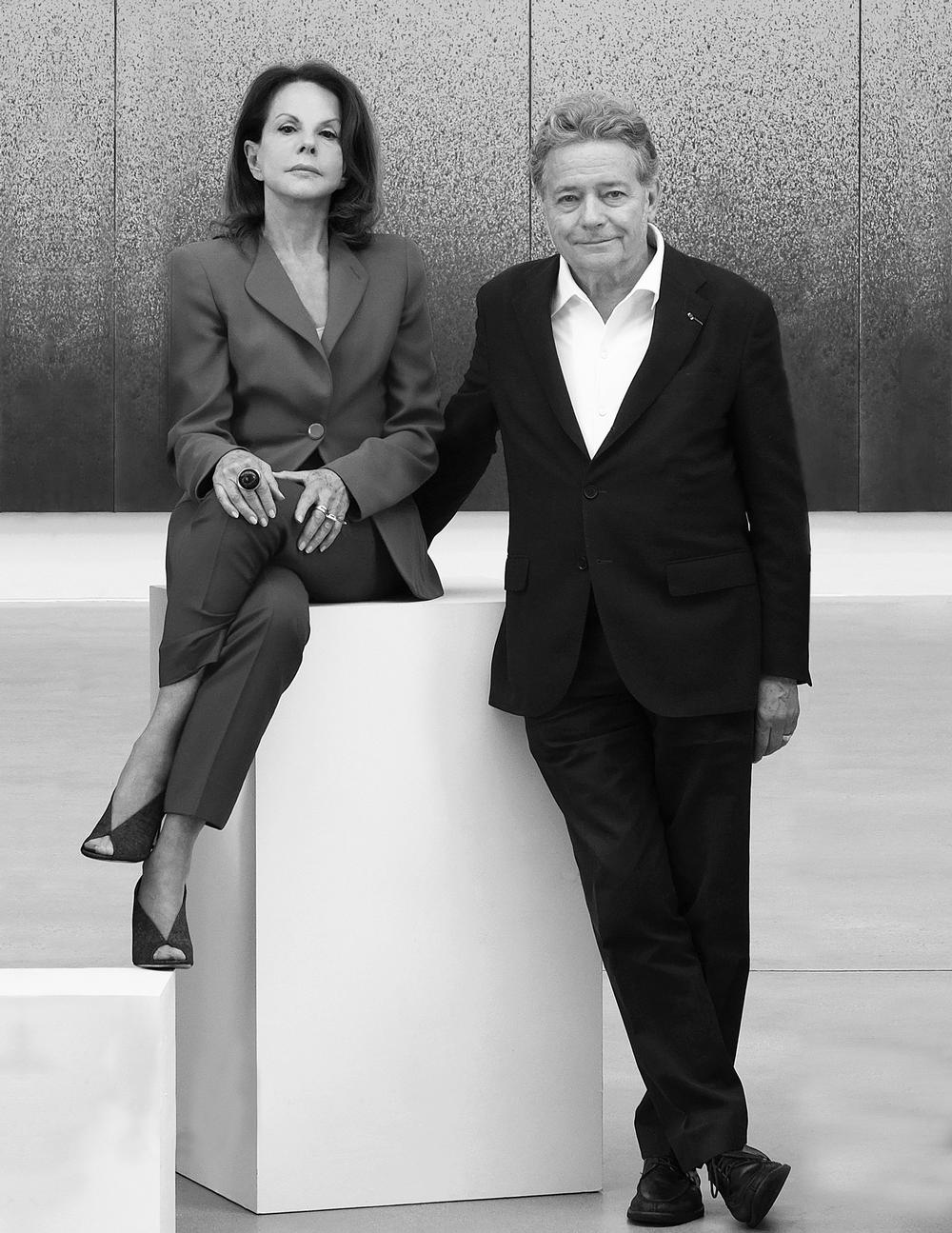 Elizabeth and Christian de Portzamparc launched 2Portzamparc together / Photo: ©Zoltan Alexander of Zoltan + Media