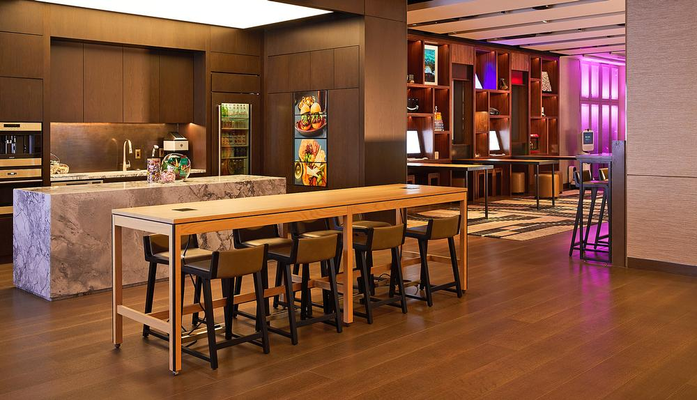 The Hilton Innovation Gallery showcases the company's latest brands, products and vision / Chaunte Vaughn: Hilton Innovation Gallery