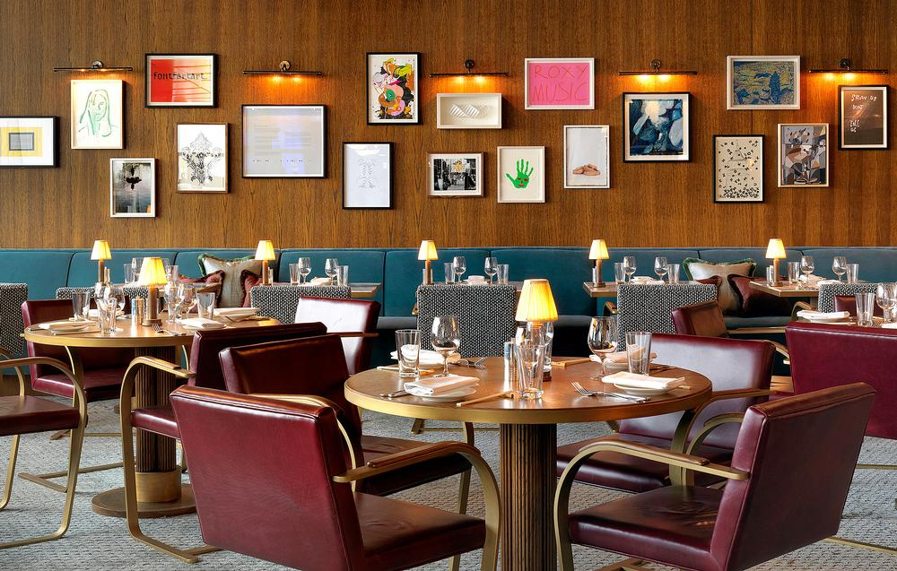 The ninth floor features a wall dedicated to the late artist Tony Hart, with new artworks by contemporary artists