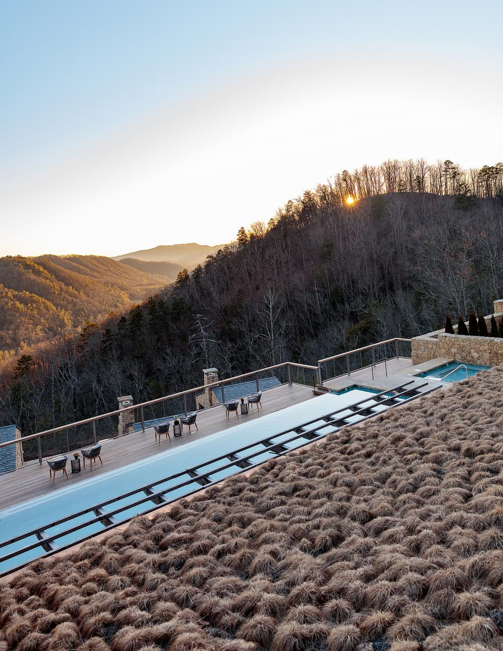 The resort has been designed to blend into the landscape / Photo: Ingalls Photography