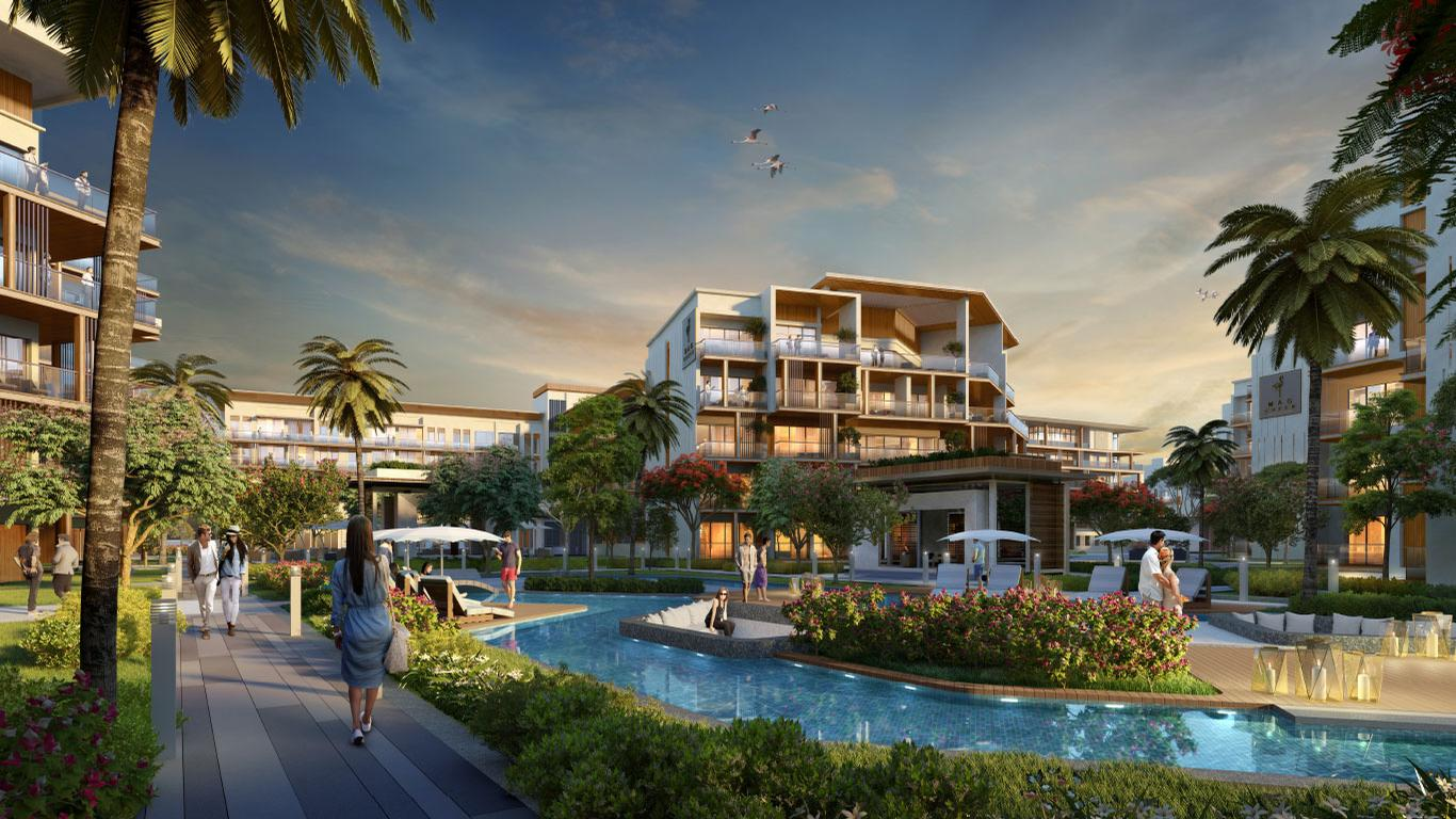 When complete, MAG Creek Wellbeing Resort will reportedly be the Middle East's largest health tourism destination. / Courtesy of VX Studio/ MAG Lifestyle