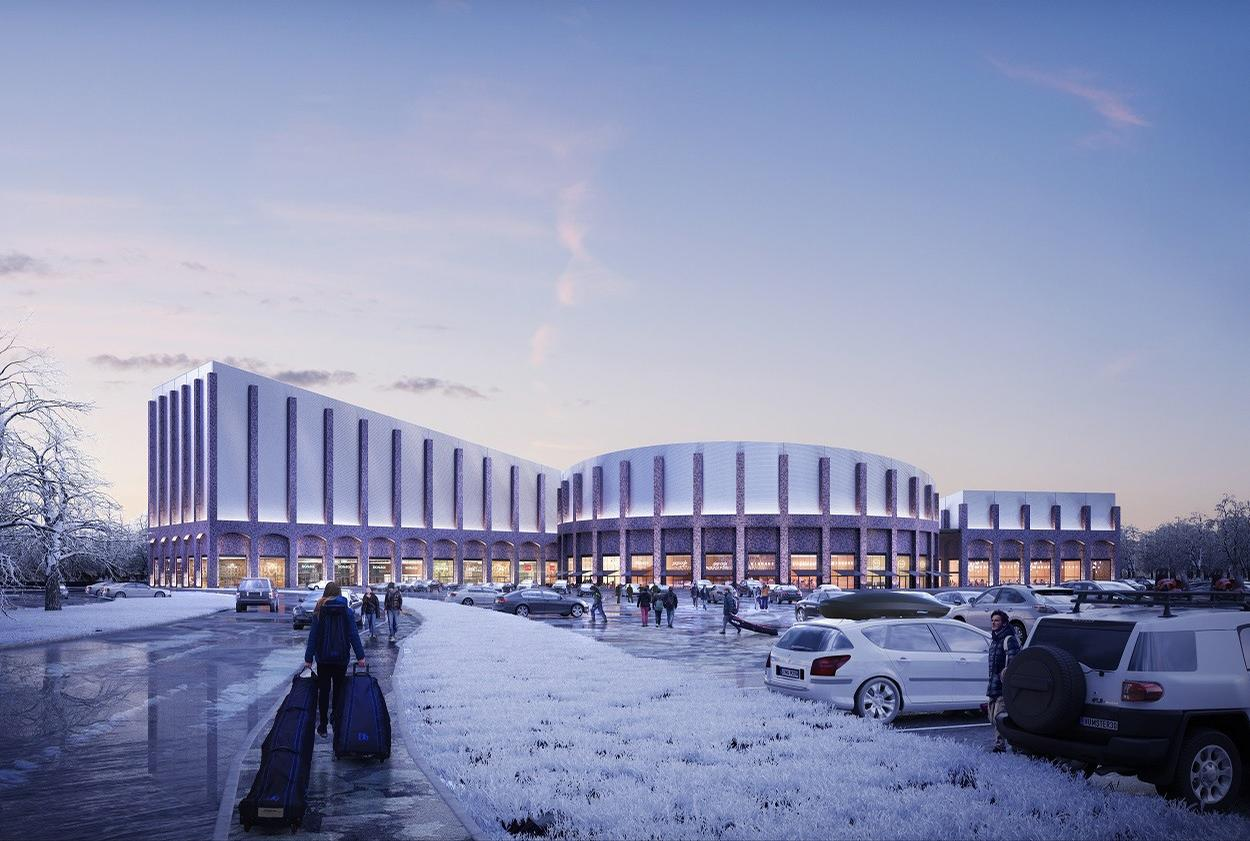 FaulknerBrowns Architects-designed £270m indoor ski centre plans approved for Swindon, UK