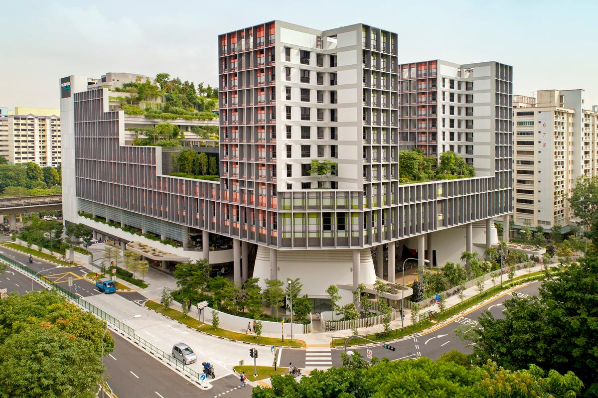 The Kampung Admiralty has been described as an