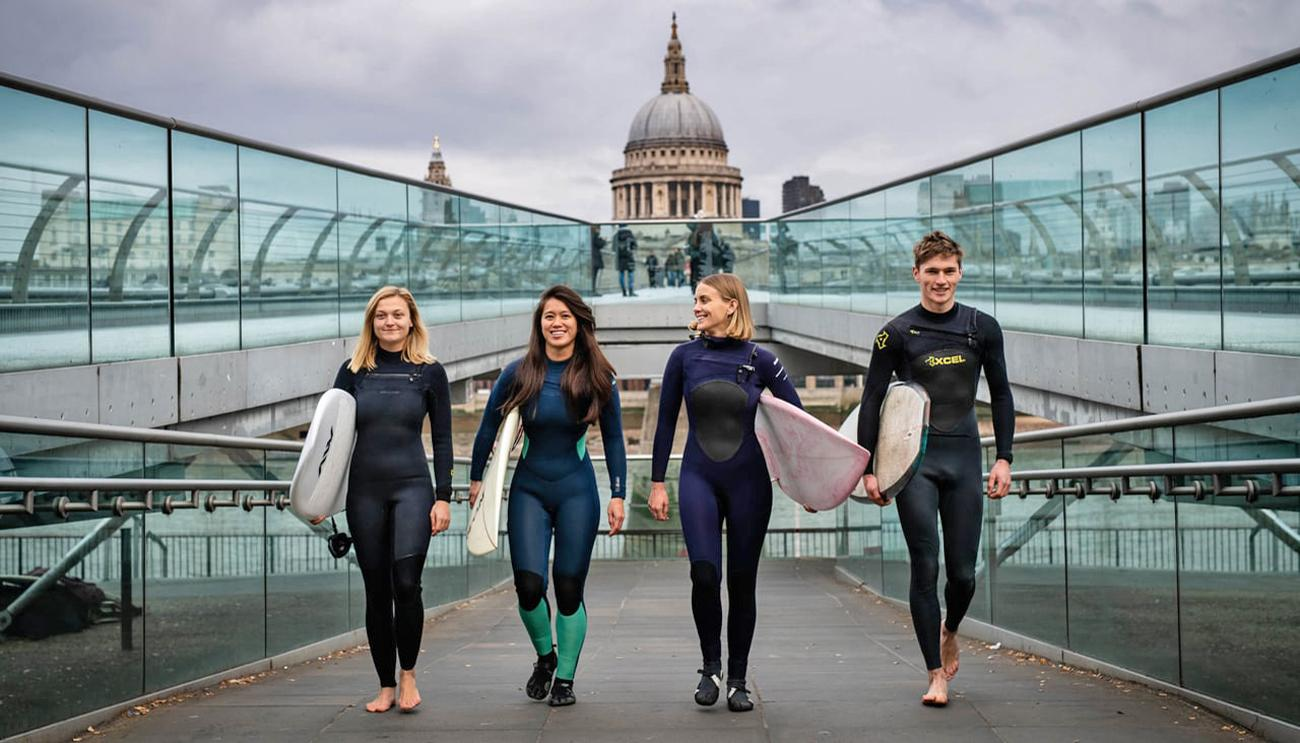 London is to become the first capital city in the world to have an inland surfing centre
