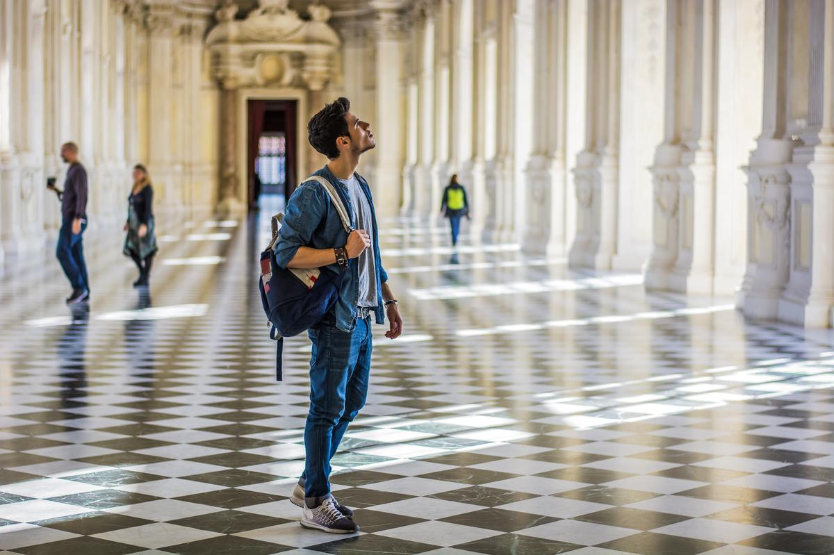 A survey of 2,000 people aged between 18 and 30, found that more than a third said they never visit galleries, while almost half never go to stately homes / Shutterstock.com